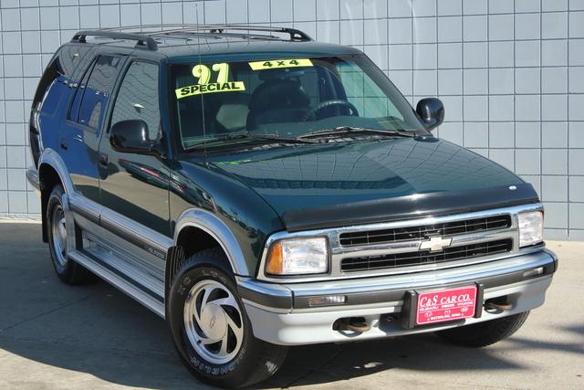1997 Chevrolet Blazer Lt 4wd Stock Sb5558a Waterloo Ia