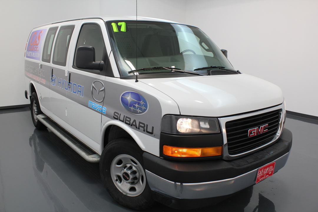 2017 GMC Savana Cargo Van  - C & S Car Company