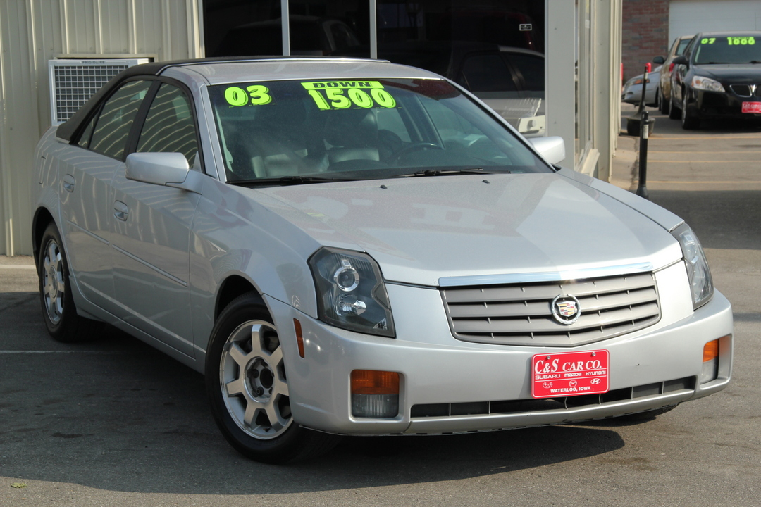 2003 cadillac cts 4d sedan stock r14750 waterloo ia. Black Bedroom Furniture Sets. Home Design Ideas