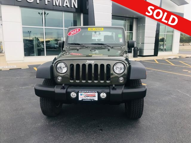 2015 Jeep Wrangler  - Coffman Truck Sales