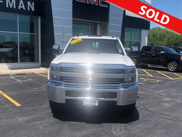 2015 Chevrolet Silverado 2500HD  - Coffman Truck Sales
