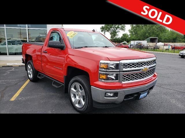 2014 Chevrolet Silverado 1500  - Coffman Truck Sales