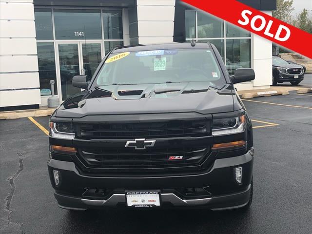 2016 Chevrolet Silverado 1500  - Coffman Truck Sales