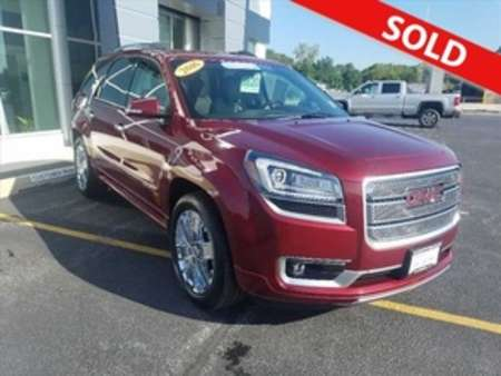 2016 GMC Acadia Denali for Sale  - 8620  - Coffman Truck Sales