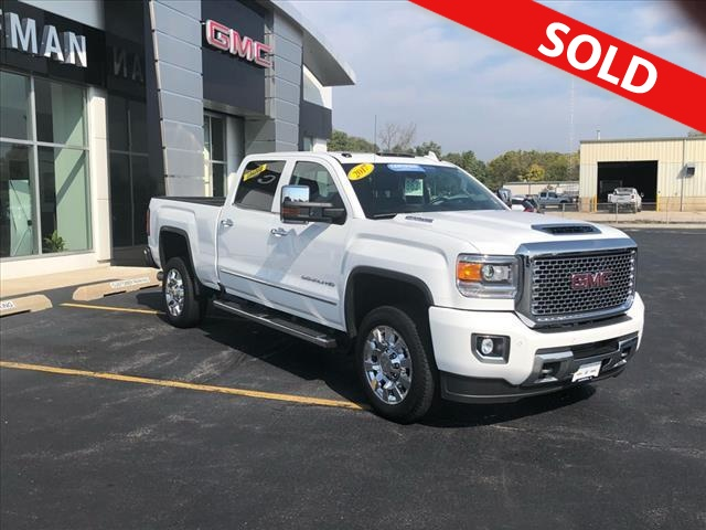 2017 GMC Sierra 2500HD  - Coffman Truck Sales