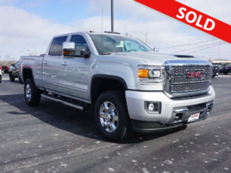 2019 GMC Sierra 3500HD Denali 4WD Crew Cab for Sale  - 276  - Coffman Truck Sales