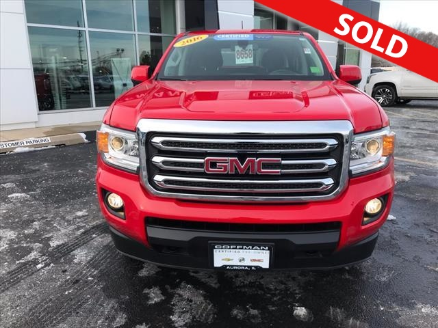 2016 GMC Canyon  - Coffman Truck Sales