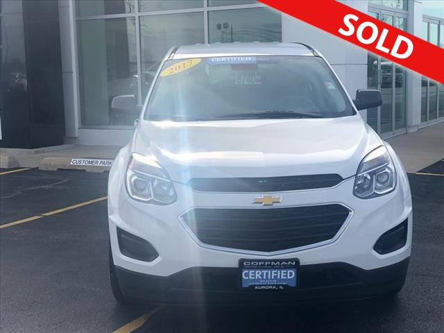 2017 Chevrolet Equinox  - Coffman Truck Sales