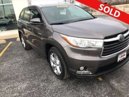 2015 Toyota Highlander Hybrid Limited 4WD for Sale  - 8695  - Coffman Truck Sales