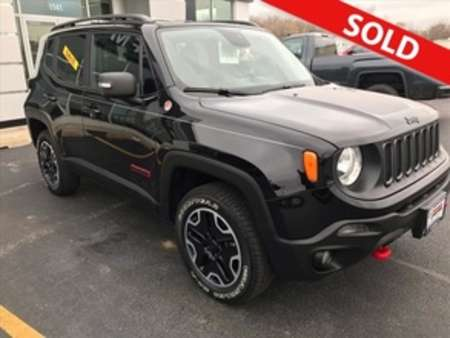 2015 Jeep Renegade Trailhawk 4WD for Sale  - 8661  - Coffman Truck Sales