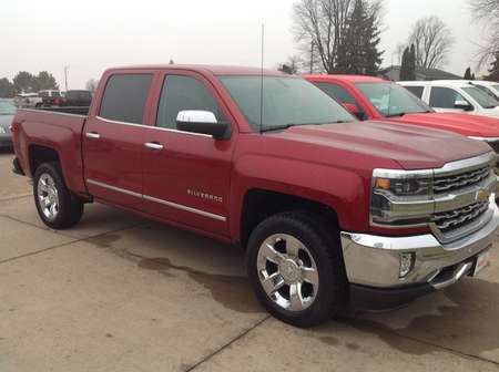 2018 Chevrolet Silverado 1500 LTZ for Sale  - 588788  - Wiele Chevrolet, Inc.