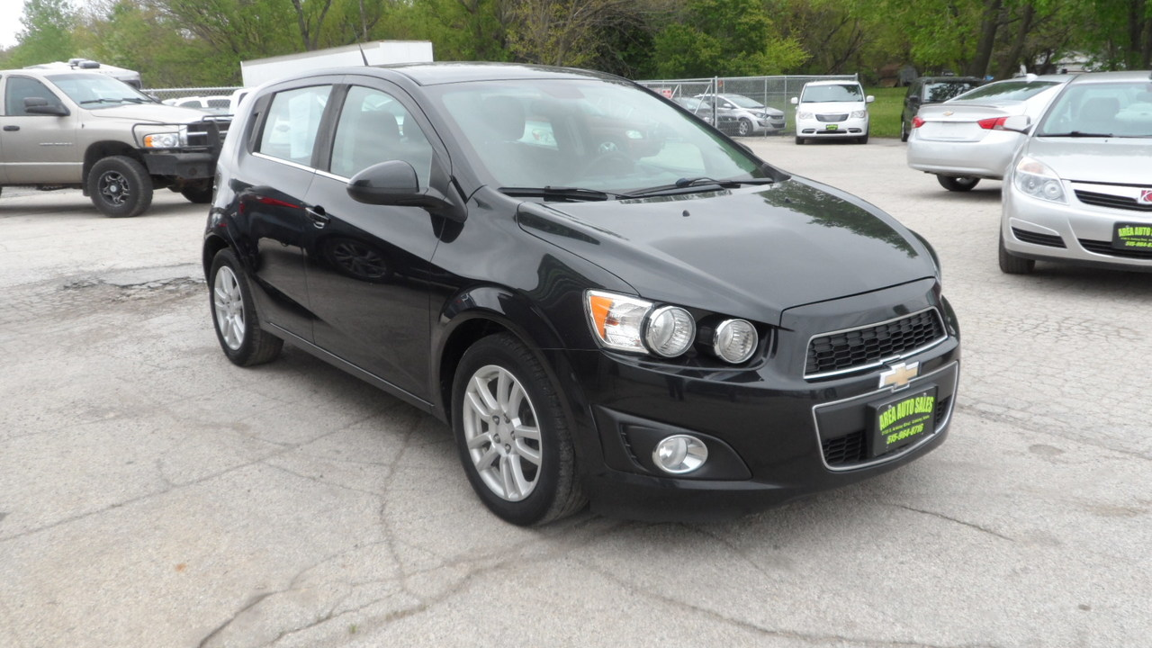 2013 Chevrolet Sonic LT  - 13025X  - Area Auto Center