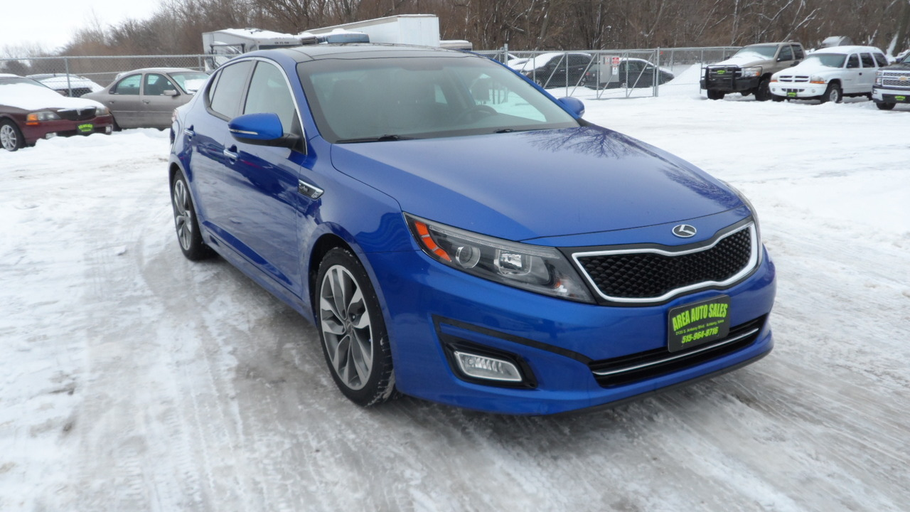 2014 Kia Optima SX  - 12092X  - Area Auto Center