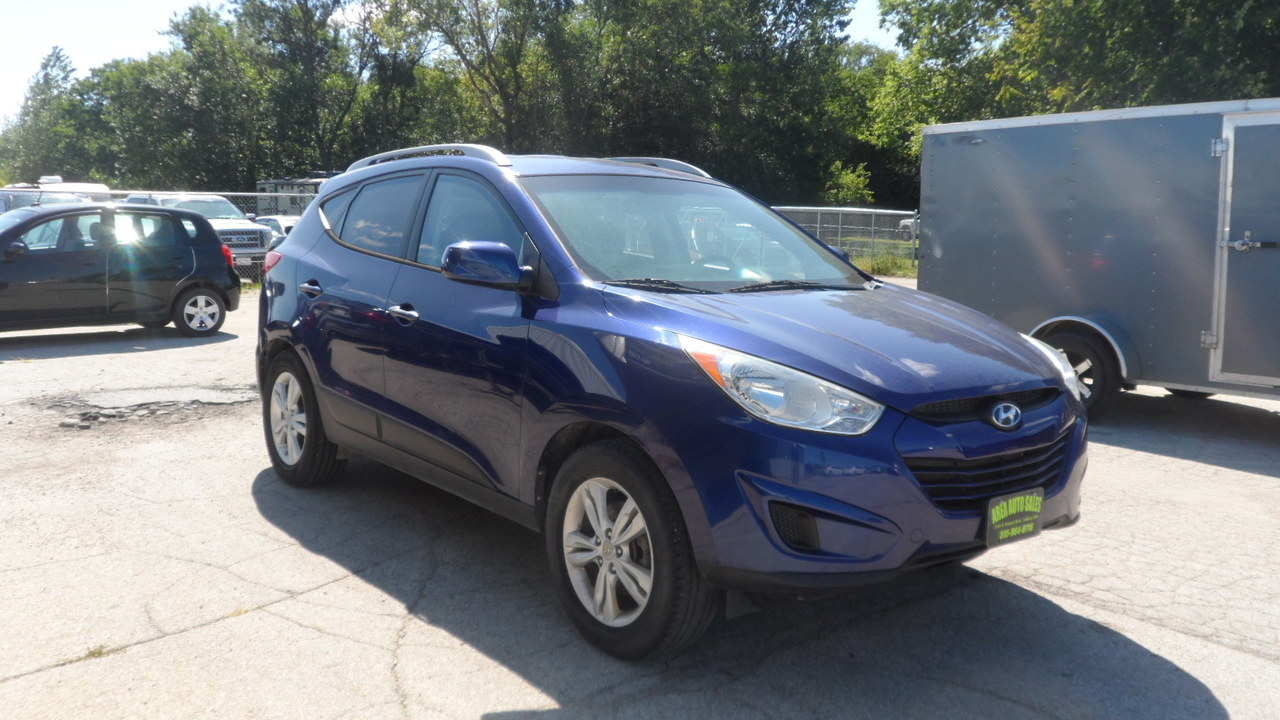 2010 Hyundai Tucson GLS AWD  - 12087X  - Area Auto Center