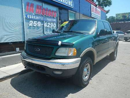 2001 Ford F-150 SUPERCREW 4WD Crew Cab for Sale  - 10297  - IA Motors