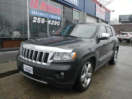 2011 Jeep Grand Cherokee OVERLAND 4WD for Sale  - 10443  - IA Motors
