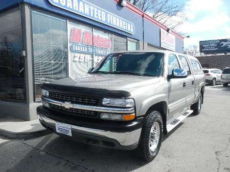 2002 Chevrolet Silverado 1500HD HEAVY DUTY 4WD Crew Cab for Sale  - 10445  - IA Motors