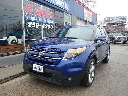 2015 Ford Explorer LIMITED 4WD for Sale  - 10674A  - IA Motors