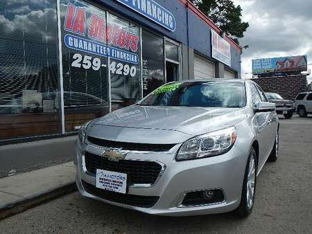 2016 Chevrolet Malibu Limited LTZ for Sale  - 10785  - IA Motors