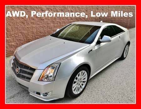 2011 Cadillac CTS Coupe Performance AWD for Sale  - P614  - Okaz Motors