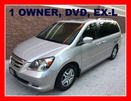 2005 Honda Odyssey EX-L RES / DVD / 1 OWNER for Sale  - P610  - Okaz Motors