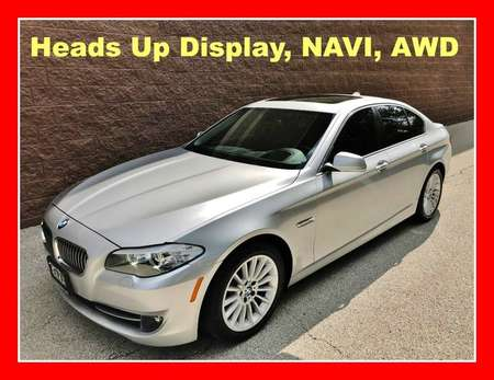 2013 BMW 5 Series Heads Up Dis, Navi, AWD for Sale  - P620  - Okaz Motors