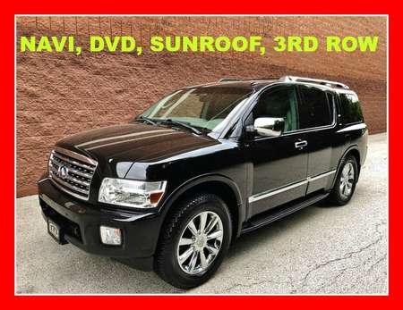 2008 Infiniti QX56 NAVI, DVD, SUNROOF, 3RD ROW 4WD for Sale  - P617  - Okaz Motors