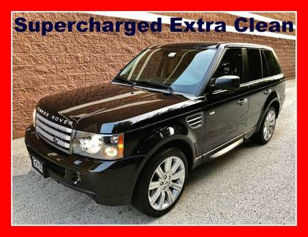 2008 Land Rover Range Rover Supercharged 4WD for Sale  - P637  - Okaz Motors