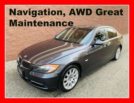 2008 BMW 3 Series AWD, NAVIGATION for Sale  - P664  - Okaz Motors