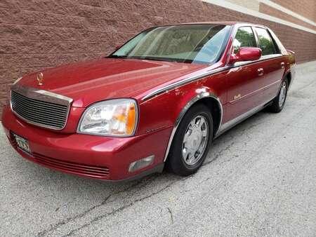 2002 Cadillac DeVille w/Livery Pkg for Sale  - AP706  - Okaz Motors