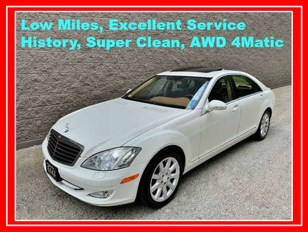2008 Mercedes-Benz S-Class S 550 4MATIC Sedan 4D for Sale  - IA721  - Okaz Motors
