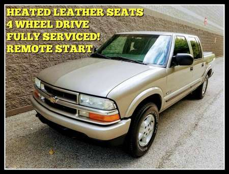 2003 Chevrolet S10 LS 4WD Crew Cab for Sale  - FP067  - Okaz Motors