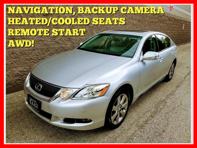 2010 Lexus GS 350 GS 350 Sedan 4D AWD  - FP097  - Okaz Motors