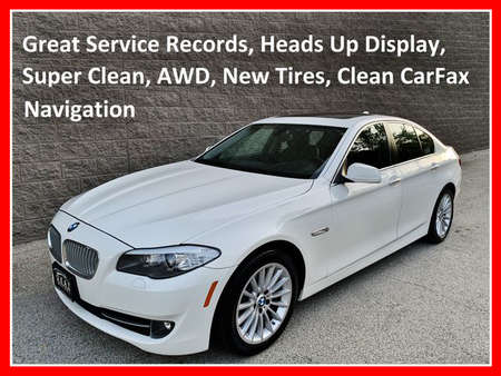 2013 BMW 5 Series Sedan 4D AWD for Sale  - IA728  - Okaz Motors