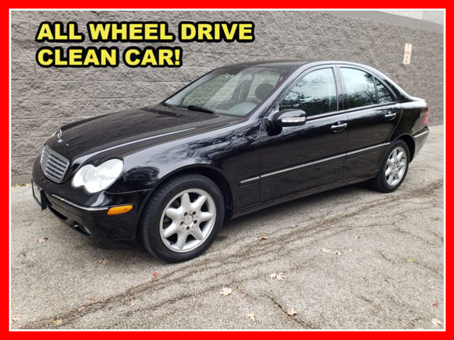 2004 Mercedes-Benz C-Class C 320 4MATIC Sedan 4D  - AP724  - Okaz Motors