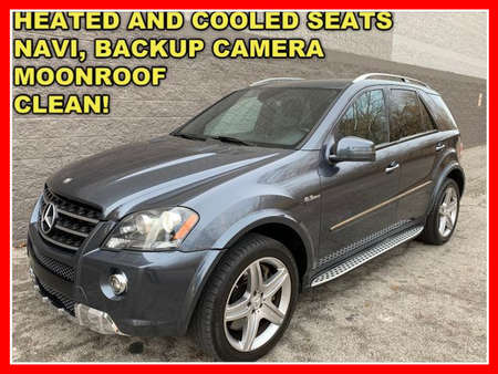 2011 Mercedes-Benz M-Class ML 63 AMG 4MATIC Sport Utility 4D for Sale  - FP106  - Okaz Motors