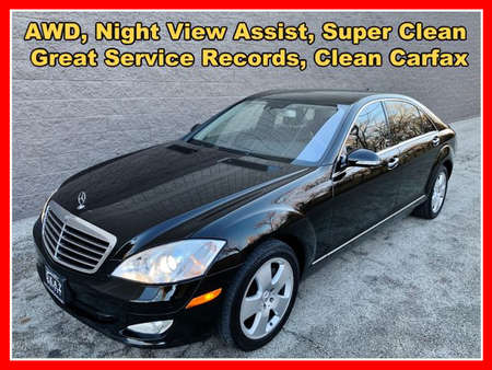 2007 Mercedes-Benz S-Class S 550 4MATIC Sedan 4D for Sale  - IA800  - Okaz Motors