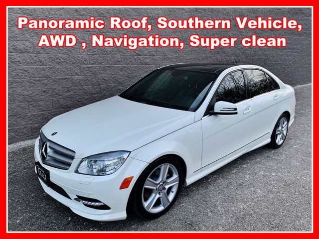 2011 Mercedes-Benz C-Class C 300 4MATIC Sport Sedan 4D  - IA805  - Okaz Motors
