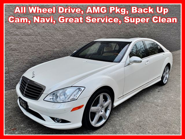 2009 Mercedes-Benz S-Class S 550 4MATIC Sedan 4D  - IA793  - Okaz Motors
