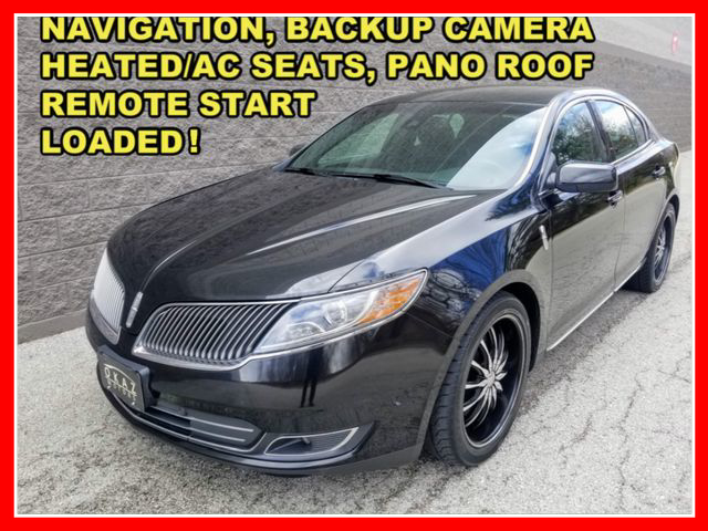 2013 Lincoln MKS EcoBoost Sedan 4D AWD  - FP123  - Okaz Motors