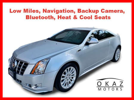 2012 Cadillac CTS Coupe 3.6 Coupe 2D for Sale  - IA1025  - Okaz Motors
