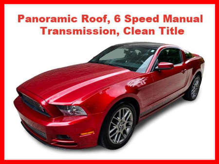 2014 Ford Mustang V6 Premium Coupe 2D for Sale  - IA1021  - Okaz Motors