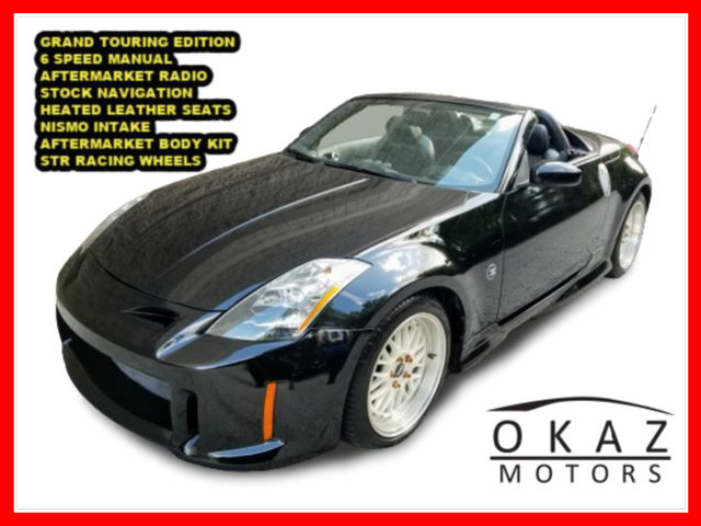 2005 Nissan 350Z Touring Roadster 2D  - FP143  - Okaz Motors
