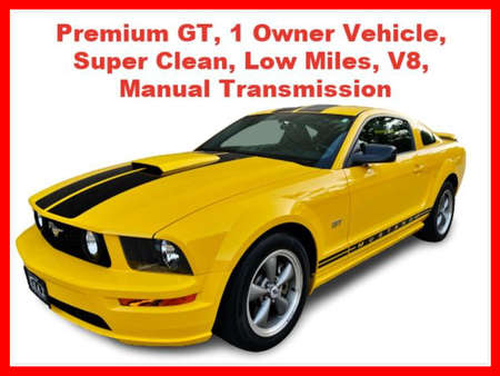 2005 Ford Mustang GT Premium Coupe 2D for Sale  - IA1044  - Okaz Motors