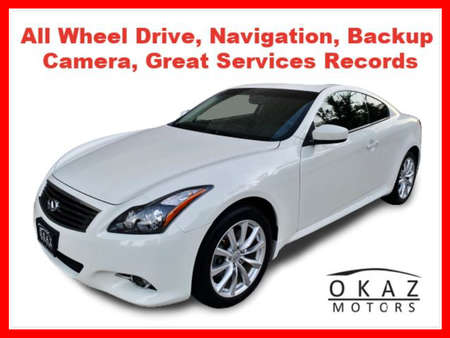 2011 Infiniti G37 Coupe G37x Coupe 2D AWD for Sale  - IA1062  - Okaz Motors