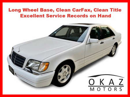 1999 Mercedes-Benz S-Class S 320 LWB Sedan 4D for Sale  - IA1071  - Okaz Motors