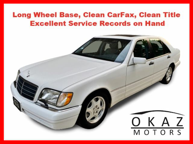 1999 Mercedes-Benz S-Class S 320 LWB Sedan 4D  - IA1071  - Okaz Motors