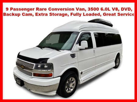 2007 Chevrolet Express Passenger LT Extended Van 3D for Sale  - IA1074  - Okaz Motors