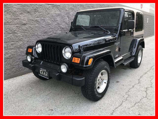 2001 Jeep Wrangler Sahara Sport Utility 2D  - AP1080  - Okaz Motors