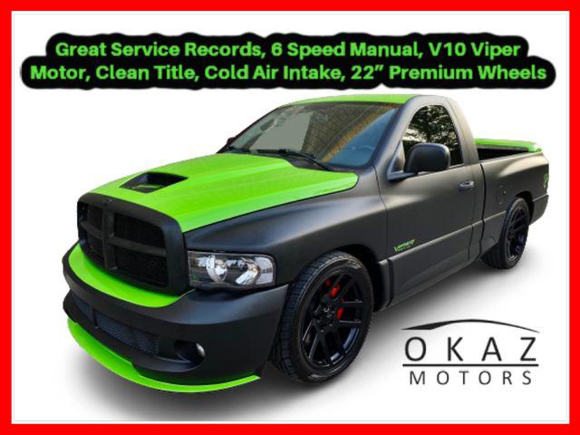 2005 Dodge Ram SRT-10 SRT-10 Pickup 2D 6 1/4 ft Regular Cab  - IA1229-FL  - Okaz Motors